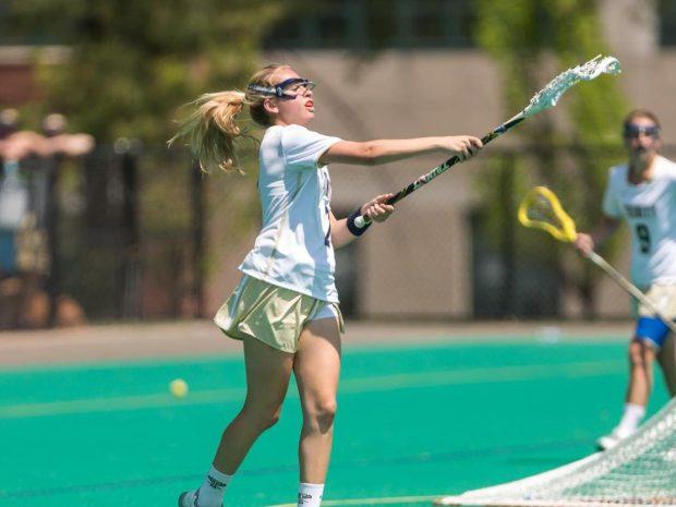Women's Lacrosse Beats Bates Bobcats 6-5 at home