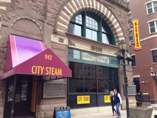 City Steam Brewery Offers Bar Fare in Historic Setting