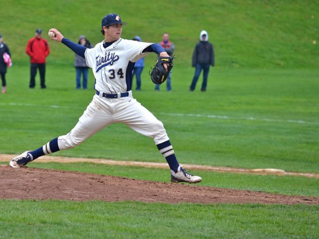 Trinity Baseball Swept in Weekend Series: Bantams Trampled by Jumbos on the Road