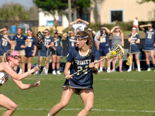 Women's Lax Dominates Conn and Springfield