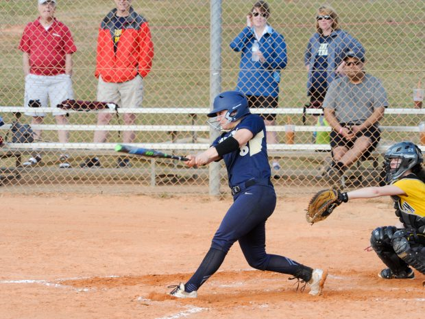 Softball Faces Tough Loss in Away Series at Tufts