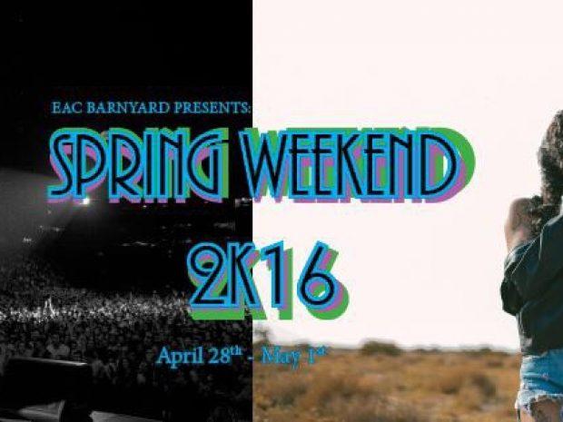 Barnyard Announces Spring Weekend Lineup