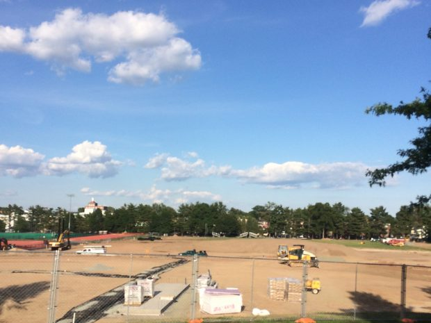 Sports Construction on Schedule, Within Budget