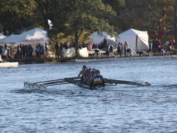 Rowing Teams Race in 52nd Head of the Charles Regatta