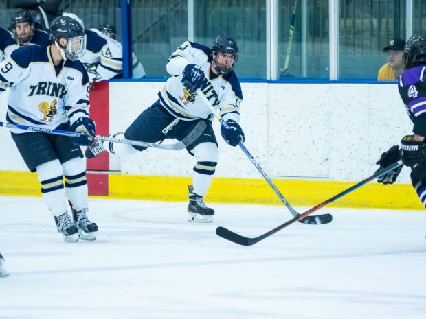 Trinity Hockey Wins in Dominating Fashion at Home