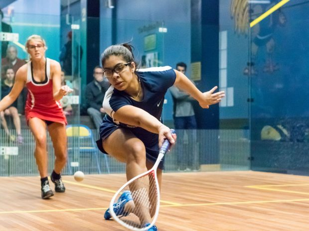 Squash Teams Sweep Columbia, Dartmouth and Colby