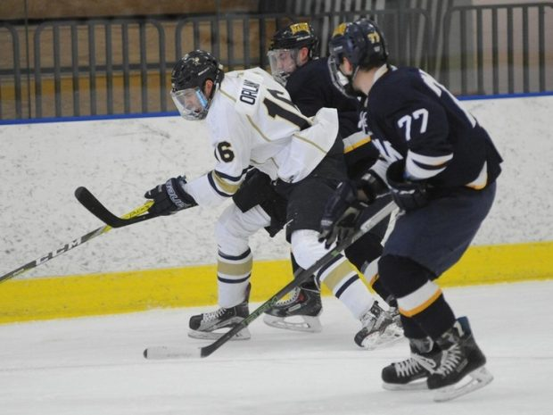 Hockey Ties Hamilton, Amherst on the Road