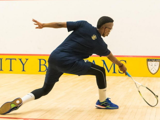 Men's Squash Rolls Against Harvard and St. Lawrence