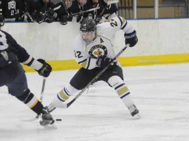 Men's Ice Hockey Sweeps Critical NESCAC Series