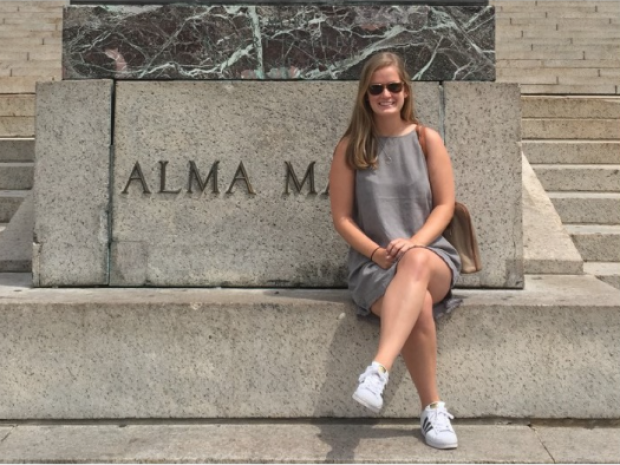 Trinity Student Experiences New York City During Study Away