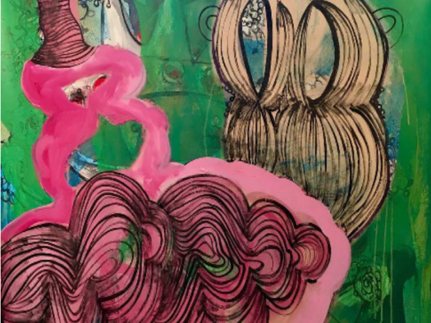 "Widener Shows ""INK: Recent Paintings by Deborah Buck"