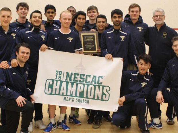Men's Squash Takes Seventeenth National Championship