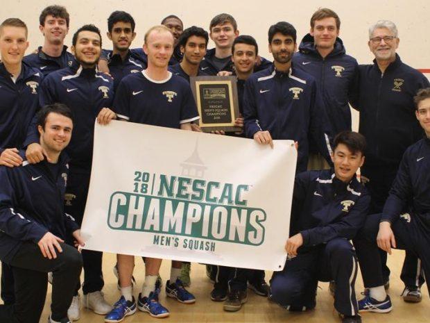 Men's Squash Takes Seventeenth National Championship