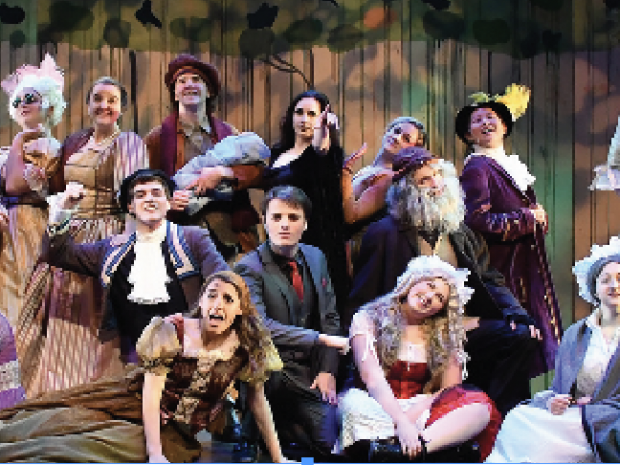 Into The Woods Achieves Trinity Theater Greatness