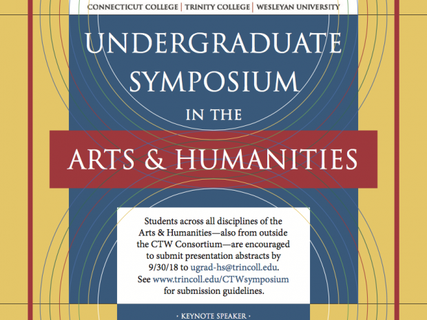 Symposium To Feature Young Humanities Scholars