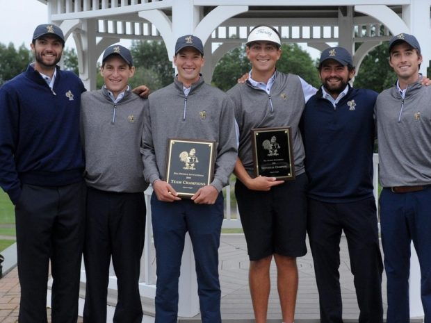Men's Golf Sets Record in Bill Detrick Invitational