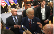 Joe Biden Comes to Hartford, Stresses Civility