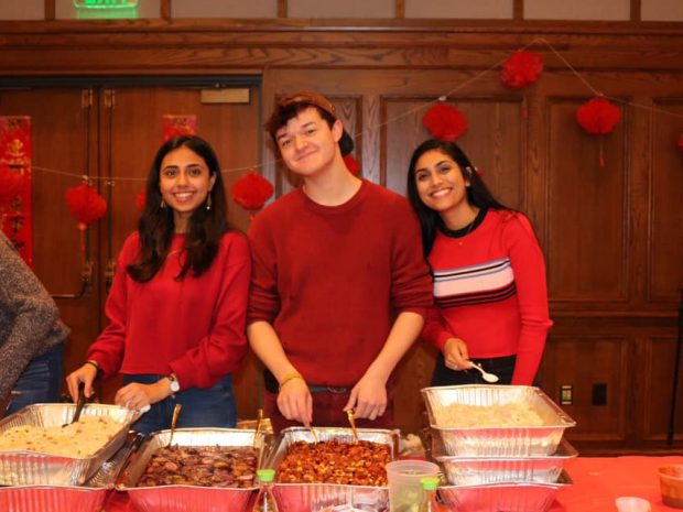 AASA Celebrates Lunar New Year with Food, Culture