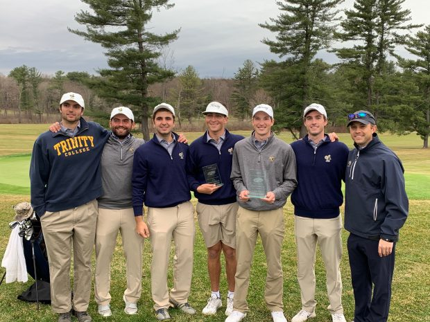 Trinity Men's Golf Captures First Win of Spring